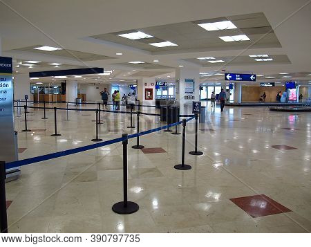 Cancun, Mexico - 01 Mar 2011: The International Airport, Cancun, Mexico