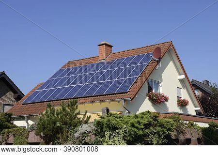 Solar Panel(solar Cell), Solar Energy Panel Photovoltaic Cell, Power Production, Photovoltaic Module