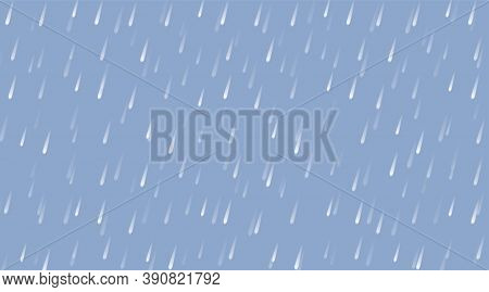Rain Droplet For Rainy Season Background, Rain Storm Wallpaper, Wind And Rain Monsoon For Background