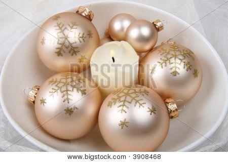 Pink Christmas Balls