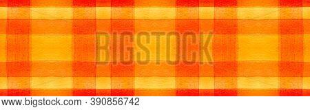 Summer Tartan Background. Watercolor Check Pattern. Retro Geometric Squares For Tile Design. Seamles