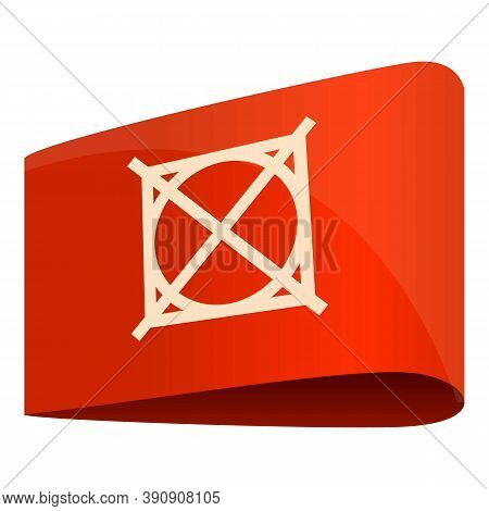 Do Not Tumble Dry Cloth Label Icon. Cartoon Of Do Not Tumble Dry Cloth Label Vector Icon For Web Des