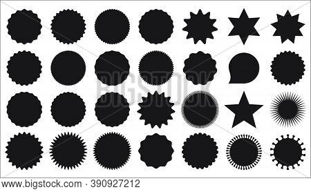 Collection Of Star Burst Stickers Price Tag Icon