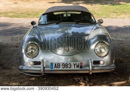 Eyrignac, France - September 2, 2018: Porsche 911 Car Parked In Eyrignac In Dordogne. France
