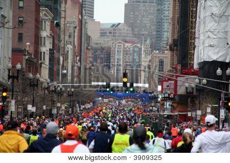 Boston Marathon 2008