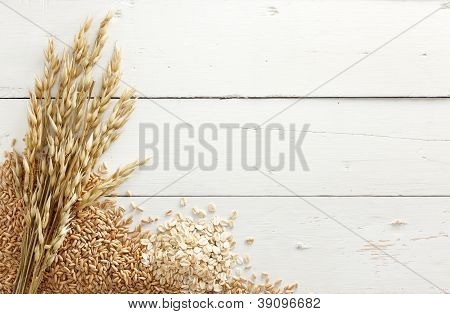 Oats With Grains