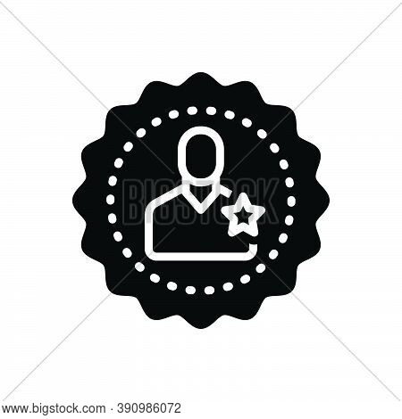 Black Solid Icon For Membership Participation Associates Fellows Join Client Community