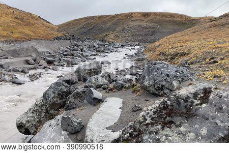 Travel To The Kamchatka Peninsula. Rivers, Mountains, Hills And Plains. Amazing Nature Of Kamchatka.