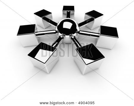 Net Or Internet Symbol