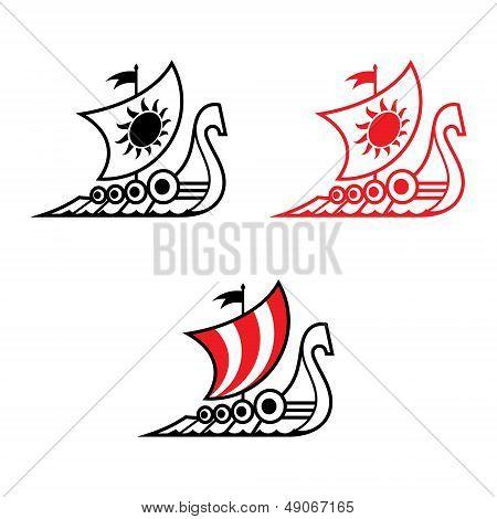 Viking Ship Drakkar
