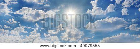The glorious sun