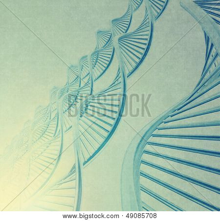 Dna In Medical  Background
