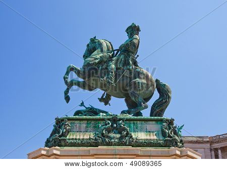 Monument For Prince Eugene Of Savoy (1865). Vienna, Austria