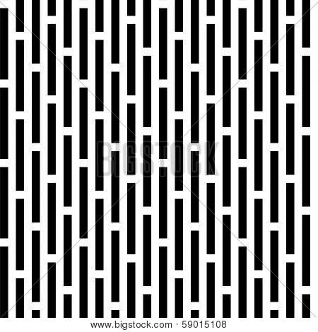 Seamless black and white vivid pattern background