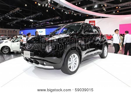 Nonthaburi - November 28: Nissan Juke Car On Display At The 30Th Thailand International Motor Expo O