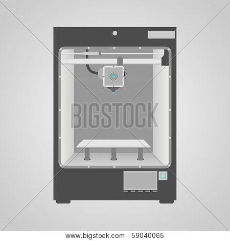 Model Of 3D Printer