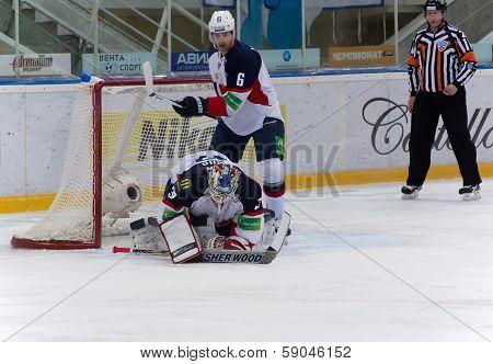 Janus Jaroslav (32) Goaltender Of Slovan Team