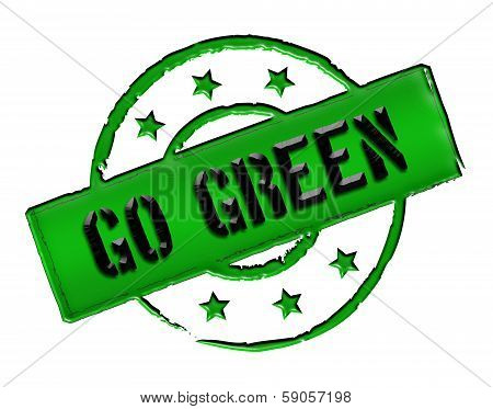 Stamp - Go Green