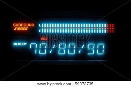 Sound Volume On Illuminated Indicator Board