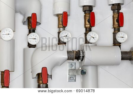 Some Heating Pipes
