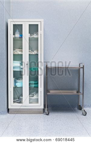 Cabinet In Clinic