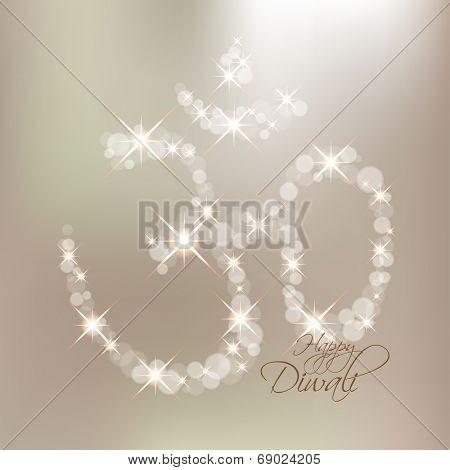 Vector Diwali Om Sign.