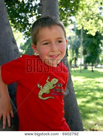 Outdoors Boy