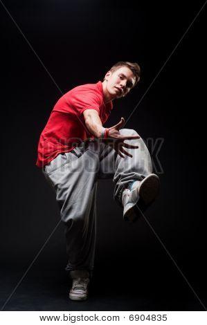 Stylish Guy Dancing