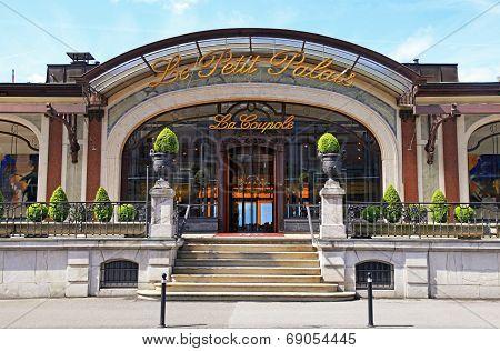 Le Petit Palais In Montreux, Switzerland.