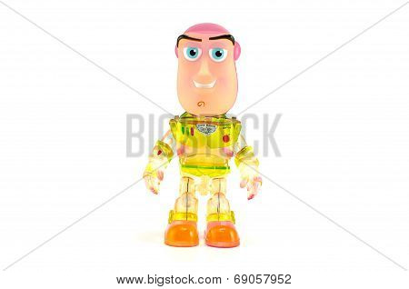 Buzz Light Year Toy Figure.