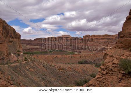 Railway tracks, Moab