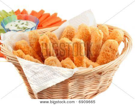 Golden Chicken Fingers