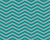 Teal Chevron Zigzag Textured Fabric Pattern Background that is seamless and repeats poster