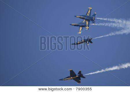 Blue Angels F/A-18 Air Show
