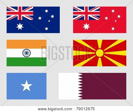 Set Of Flags 01.