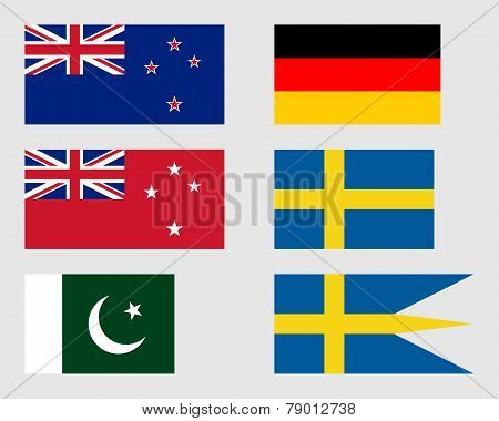 Set Of Flags 08.