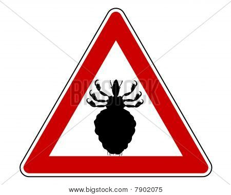 Louse Warning Sign