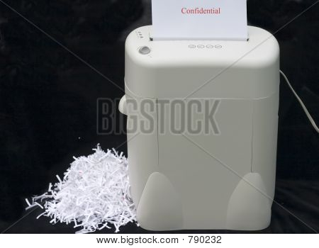 shredding confidential information