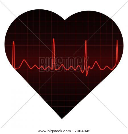 Red Heart Monitor