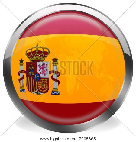 button flag of spain