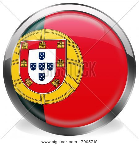 button flag of portugal