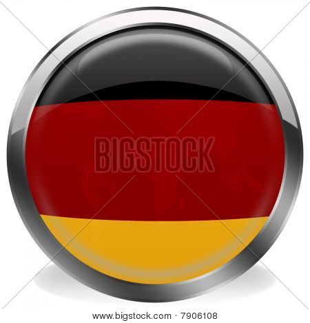 button flag of germany
