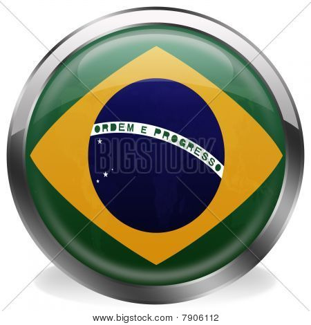button flag of brazil
