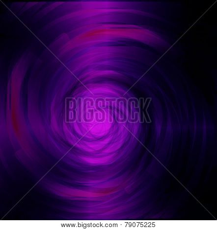 Purple black swirl dark light background