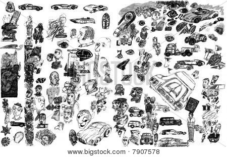 Background Doodles