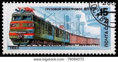 Russian Locomotive