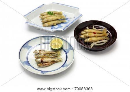 honmoroko, willow gudgeon, japanese cuisine