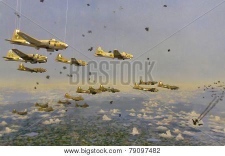 Bombing Diorama