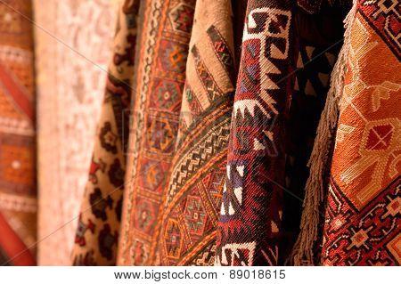 Turkish carpets.