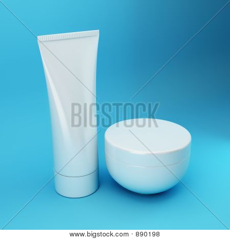 Cosmetic Products 5 - Blue